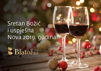 Sretan Božić i uspješna Nova 2019. godina!
